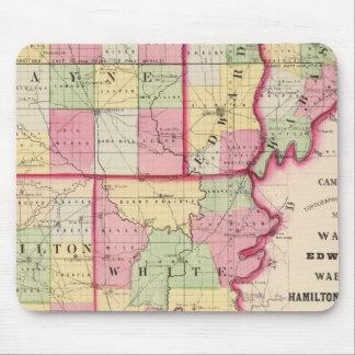 Wayne, Edwards, Wabash, Hamilton, White counties Mouse Pad