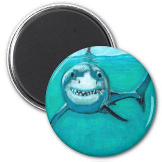 """Wayne"" The Great White Shark Magnet"