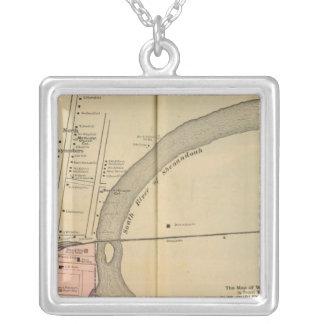Waynesboro, North Waynesboro, Waynesboro Junction Silver Plated Necklace