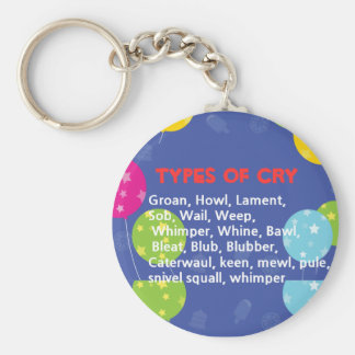 Ways to Cry Key Chains