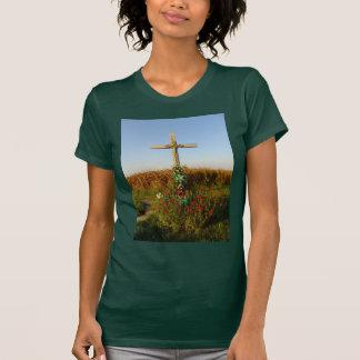 Wayside Crucifix, Romania T Shirt