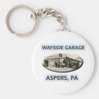 Wayside Garage Key Chains