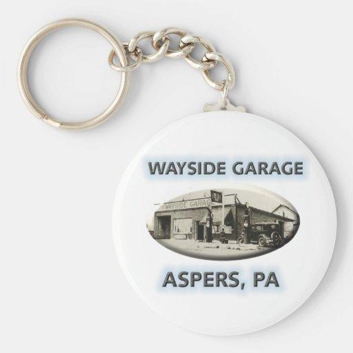 Wayside Garage Keychain