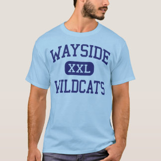 Wayside Wildcats Middle School Saginaw Texas T-Shirt