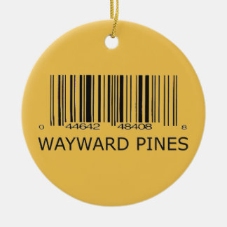 Wayward Pines Resident Christmas Ornament