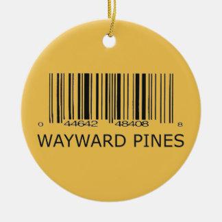 Wayward Pines Resident Christmas Ornament
