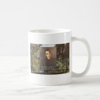 "WB Yeats ""Strike Hot Iron"" Quote Tees Gifts Etc Coffee Mug"