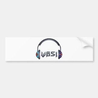 WBSI [What did the Brit Say to the Indian] gear Bumper Sticker