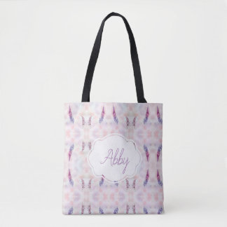 WC Feathers Tote Bag