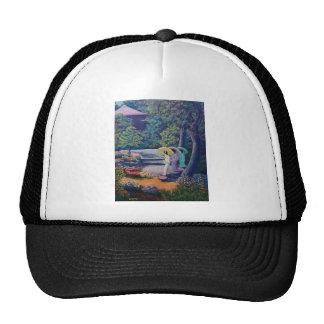 wc strolling paradise trucker hats