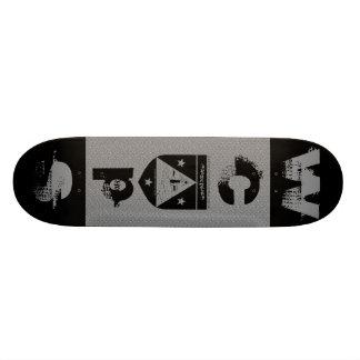 WCPS Board Deck with (Black logo) Skateboard