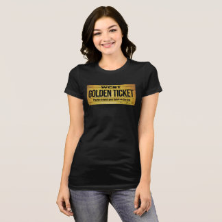 WCST GOLDEN TICKET Women's Bella+Canvas Jersey Tee