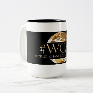 WCST World Changers Sister Tribe(TM) Black 15 oz Two-Tone Coffee Mug