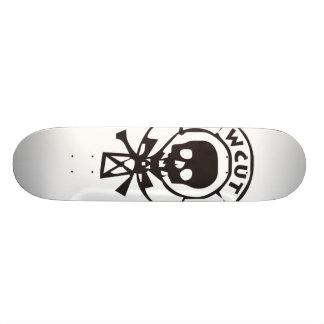 WCUT Radio Skateboard