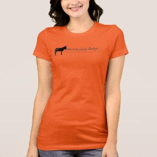 WD Logo Womens Racer Back T Shirt Burnt Sugar L