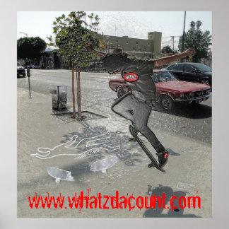 WDC AND DELMARC PRESENTS: OG TONY CHALK POSTER