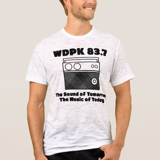 WDPK 83.7 The Sound of Tomorrow The Music of Today T-Shirt