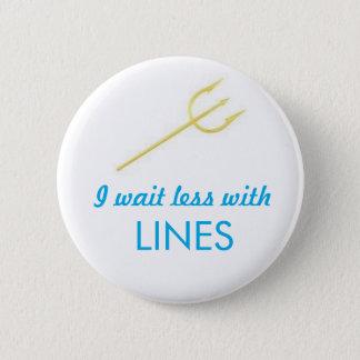 WDW Lines Trident 6 Cm Round Badge