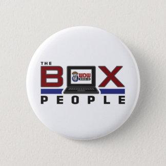WDW Radio Box People 6 Cm Round Badge