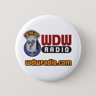 WDW Radio Logo Gear 6 Cm Round Badge