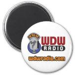 WDW Radio Logo Gear Refrigerator Magnet