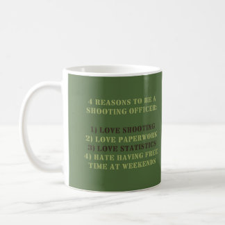 WDYHC No13 Shooting Officer Coffee Mug