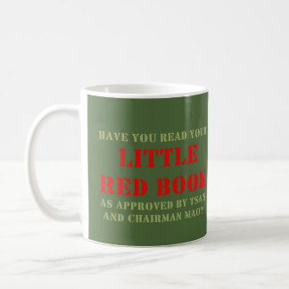 WDYHC No8, Little Red Book Coffee Mug
