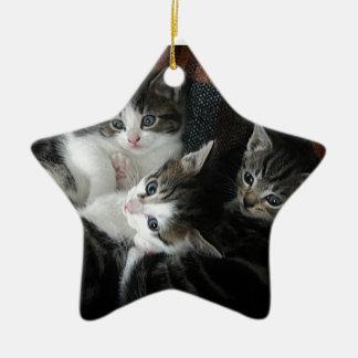 We 3 Kits Ceramic Star Decoration