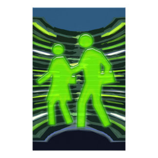 We Adore GREEN Champions Walk Talk Inspire NVN240 Customized Stationery