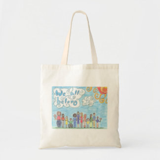 We All Belong Tote Bag