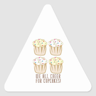 We All Cheer For Cupcakes! Stickers