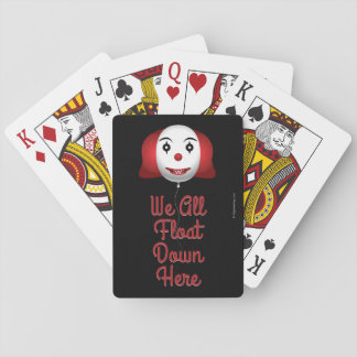 We All Float Down Here Poker Deck