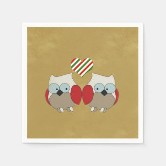 We All Love It Christmas Party Paper Napkins