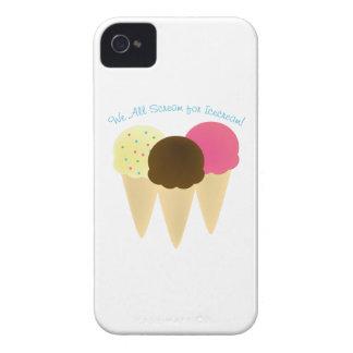 We All Scream iPhone 4 Cases