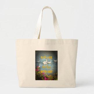 We always leave our customers happy & satisfied. jumbo tote bag