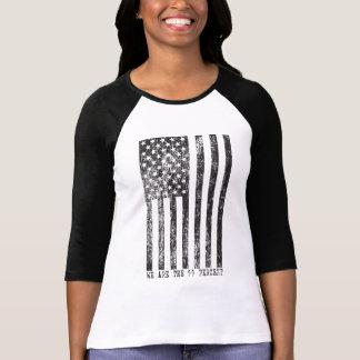 We Are 99 Percent Flag Shirt