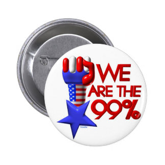 We are 99% rising star 6 cm round badge