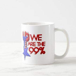 We are 99% rising star basic white mug