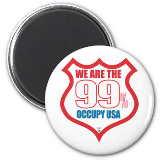 We-are-99-usa- Refrigerator Magnet