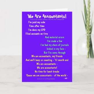 We Are Accountants! Accounting Song Parody Lyrics