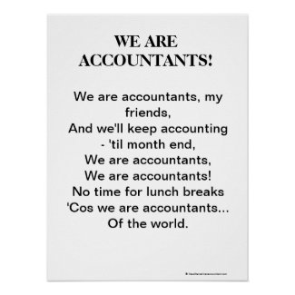 We Are Accountants ! Motivational Accountant Song