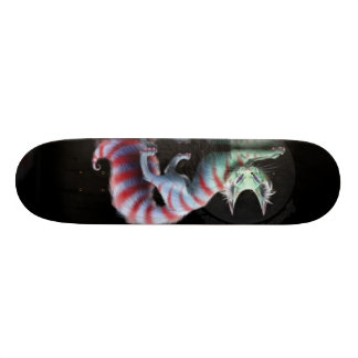 we are all a little mad here skate decks