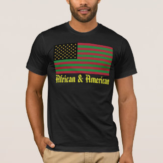 We Are All America - African & American T-Shirt