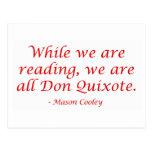 We Are All Don Quixote Postcard
