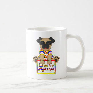 We Are All Equal Gay Pride tees and Gifts Basic White Mug