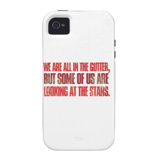 We are all in the gutter but some of us are vibe iPhone 4 case
