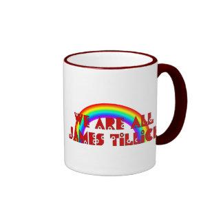 We Are All James Tillich Ringer Mug