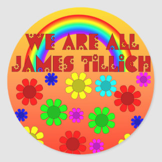 We Are All James Tillich Round Sticker