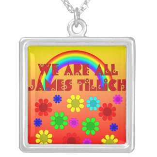 We Are All James Tillich Square Pendant Necklace