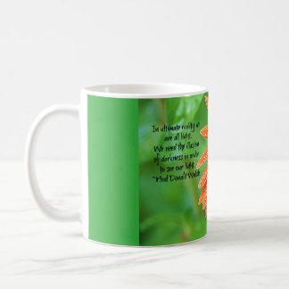 We Are All Light Gerber Daisy Coffee Mug